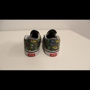 Shoes - Super Mario Yoshi Toddler Vans Shoes LIKE NEW